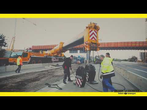 Gräser-Eschbach at work!!! Brückenarbeiten in Mannheim A656
