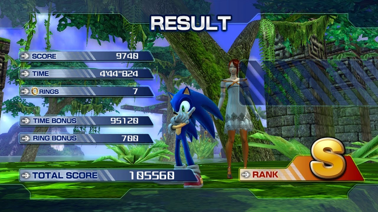 Sonic The Hedgehog 2006 Very Hard Dlc Sonic No Commentary Youtube