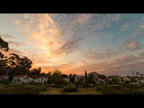 Timelapse - Sunrise At The Rose Garden