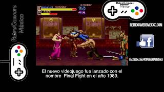 FINAL FIGHT RGM - TODO UN CLÁSICO