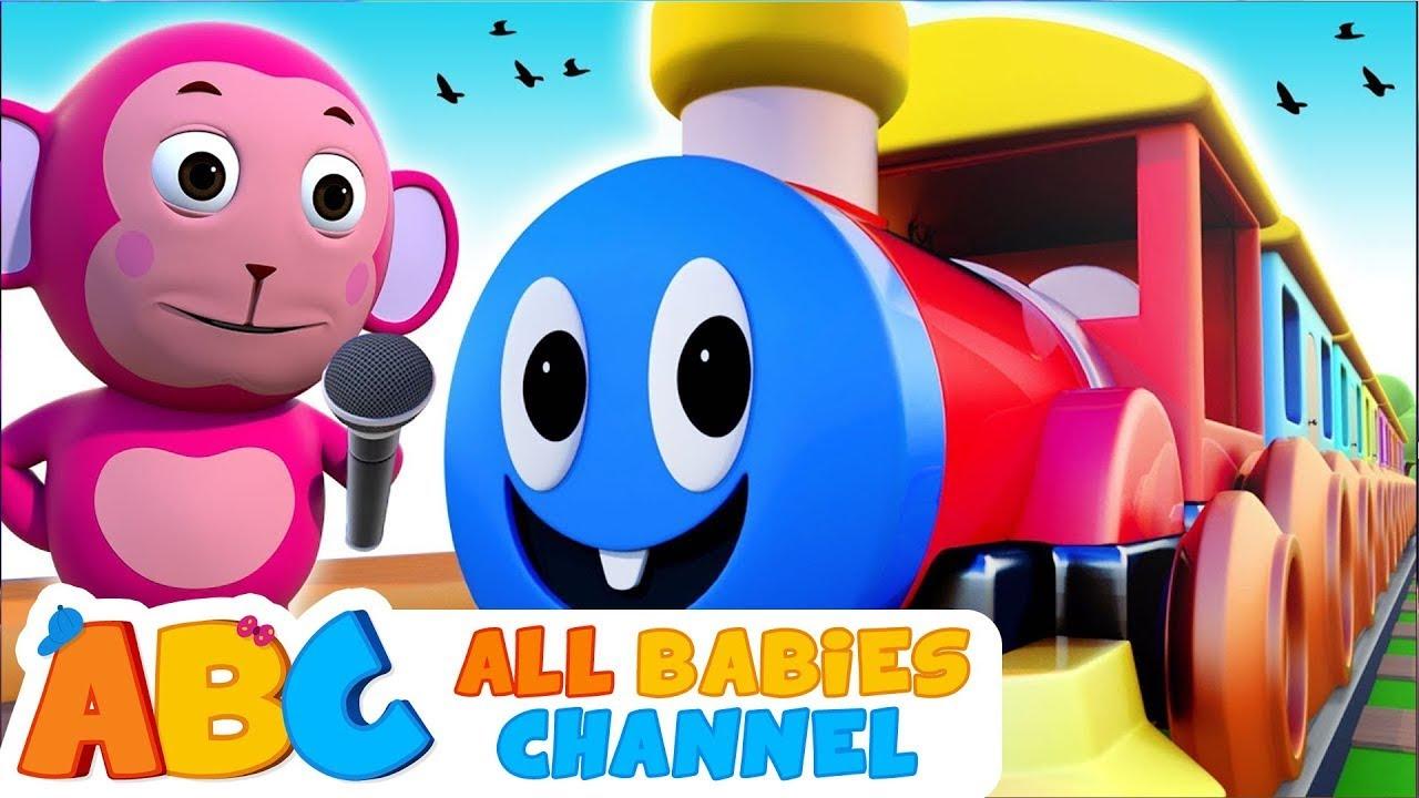 Choo Choo Train Song   Kids Songs   All Babies Channel