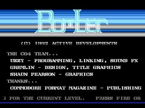 BOMBER game for the Atari 8bit computers