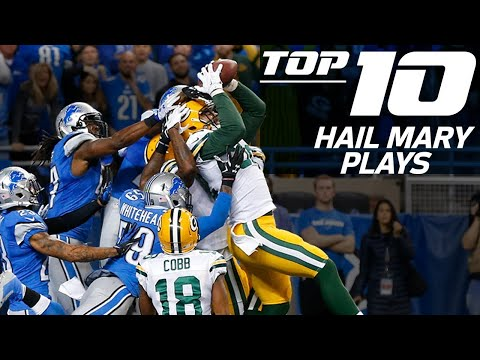 Top 10 Hail Mary Plays | NFL Films