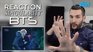 VOCAL COACH reacts to BTS singing SINGULARITY