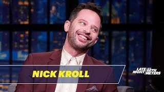 Nick Kroll's Fan Got a Tattoo of His Signature