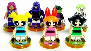 Unboxing LEGO Dimensions Wave 9 Teen Titans Go Powerpuff Girls Beetlejuice