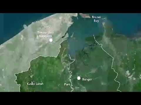 Brunei Temburong Marine Bridge