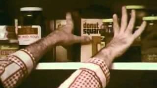 1960's  Commercial  Birds Eye Doughnut Squares,
