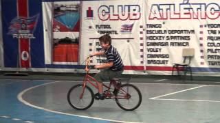 Proyecto Deportivo Especial Despertar - Esteban en Bici