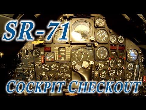 SR-71 Cockpit Checkout