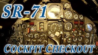 SR-71 Cockpit Checkout