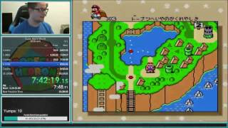 Super Mario World 96-exit speedrun 1:24:03