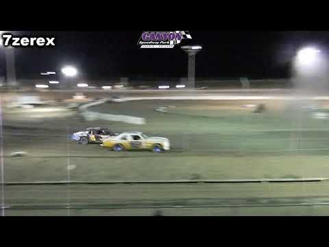 IMCA Hobby Stocks Heat 2 Canyon Speedway Park 8-31-2019
