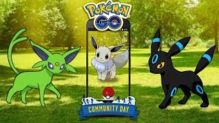 SHINY EEVEE COMMUNITY DAY PREP - POKÉMON GO