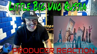 Little Big   Uno   Russia 🇷🇺   Official Music Video   Eurovision 2020 - Producer Reaction