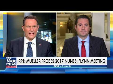 Ranking Member Nunes discusses report Mueller probing 2017 meeting with foreign officials, Flynn