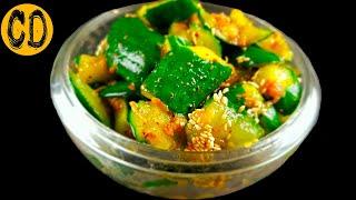 Салат из БИТЫХ ОГУРЦОВ  Настоящая свежесть Азиатской Кухни  Cooking Day