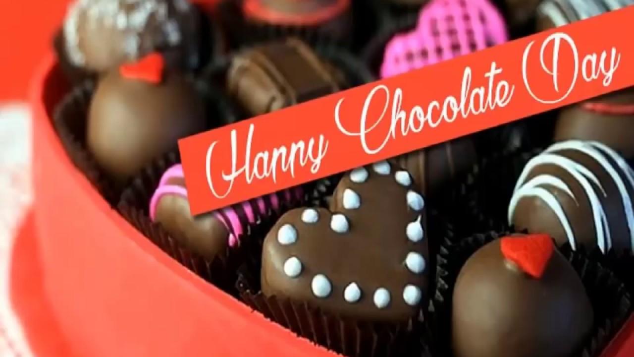 Happy Valentine S Day Decorated Chocolates In 2021 Happy Chocolate Day Chocolate Day Chocolate Day Images Happy chocolate day 2021 images hd