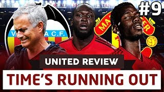 TIME'S RUNNING OUT AT UNITED?!...   Champions League Live   United Review