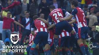 Chivas derrotó en los penales a América y está en la final de la Copa MX