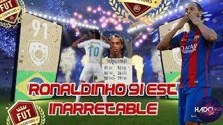 Fifa 18- Ronaldinho 91 Est Inarretable Sur Fut Champions !!