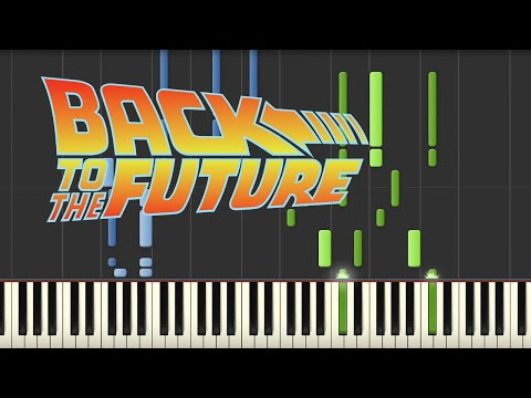Back to the Future - Theme Song (Piano Tutorial)