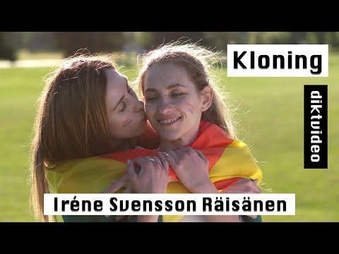 Kloning diktvideo av poeten Iréne Svensson Räisänen