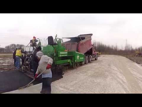 Planes Moving Indianapolis New asphalt laid down by Globe Paving