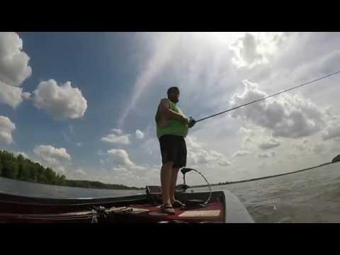 Pymatuning bass fishing part 2 youtube for Pymatuning fishing report