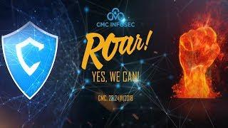 CMC InfoSec | Gala dinner 2018 | Roar! Yes, we can!