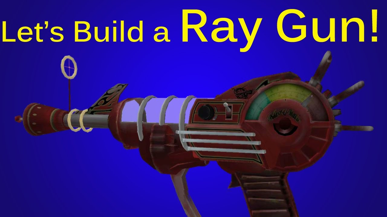 Make Ray Gun Black Ops/waw Ray Gun