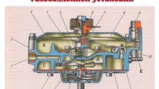 Устройство автомобиля Система от газобаллонной установки  #13