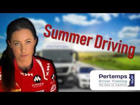 Summer Driving Tips with Rebecca Jackson and Pertemps Driver Training