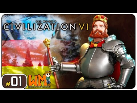 Sid Meier's Civilization VI Alemanha #01 - Gameplay [PT-BR] - Vamos Jogar Português