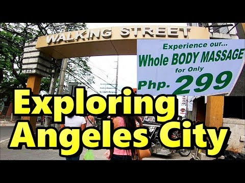 Exploring Angeles City | Hotels Restaurants and Walking Street
