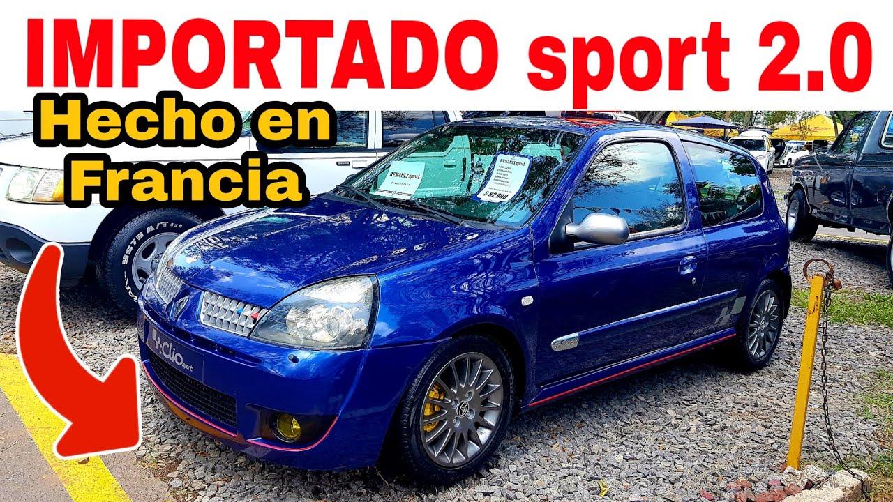 RENAULT sport 2.0 clio DEPORTIVO FRANCÉS autos en venta tianguis de autos usados top autos