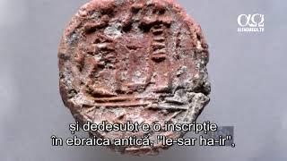 Descoperire din vremea Primului Templu care confirma relatarile biblice