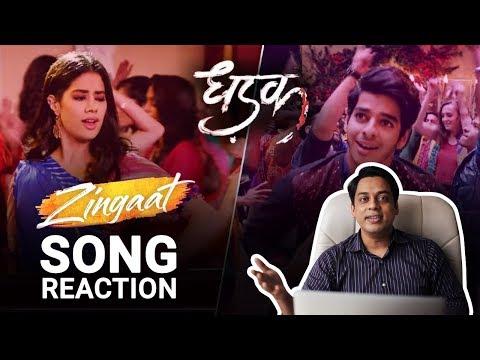 Zingaat Hindi Song Reaction | Dhadak | Ishaan & Janhvi | Ajay-Atul | Amitabh Bhattacharya