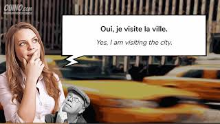 9 Learn French with Conversations  #28   Taking a Taxi   OUINO com   YouTube