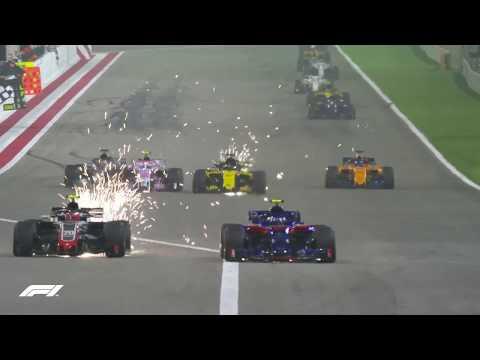 2018 Bahrain Grand Prix: Lewis Hamilton's Triple Overtake