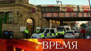 Полиция задержала 18 летнего подозреваемого поделу отеракте влондонском метро