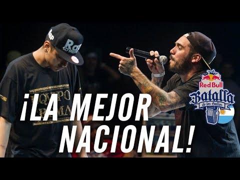 ¡La MEJOR NACIONAL de la HISTORIA! | Red Bull Batalla De Los Gallos ARGENTINA 2015 | Freestyle Rap