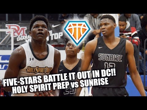 FIVE-STARS BATTLE IT OUT IN DC!! Anthony Edwards & N'Faly Dante CONTINUE TO DOMINATE