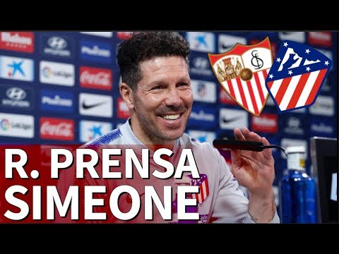 Sevilla-Atlético |Rueda de prensa de Simeone previa |Diario As