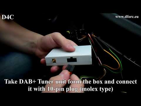 Tuner DAB DAB+ RD4 RD4 MP3 CITROEN PEUGEOT