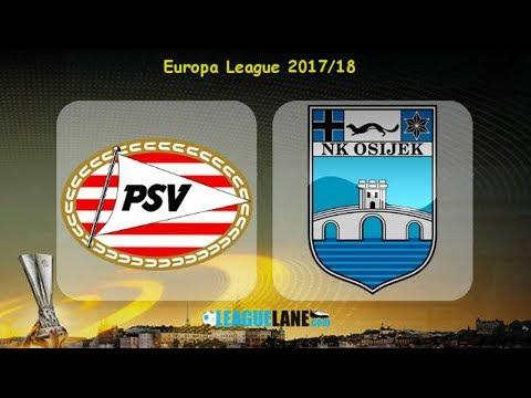 PSV vs Osijek