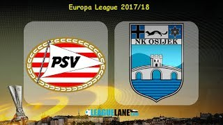 PSV Eindhoven vs NK Osijek full match