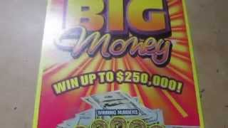 "$10 Texas Lottery Scratch Off "" Big Money"" #2 ""Good Win"""