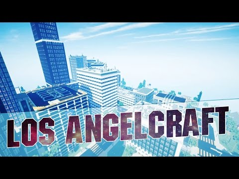 """Minecraft - """"LOS ANGELCRAFT"""" - Epic Minecraft City Inspired by Los Angeles - Map w/ Download - 2015"""