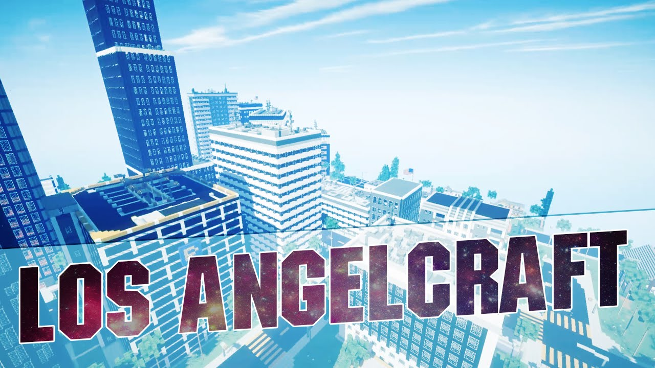 Minecraft LOS ANGELCRAFT Epic Minecraft City Inspired By Los - Los angeles map download